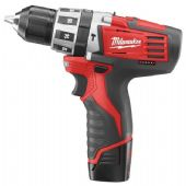 Milwaukee C12PD-32C M12 Li-Ion Percussion Drill Driver (2 Batteries)